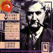 Vaughan Williams: Symphonies 3 & 4, Greensleeves / Slatkin