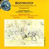 """Beethoven: Piano Concerto No 5 """"Emporer"""" / Ax, Mehta, Previn"""