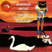Tchaikovsky: Nutcracker, Swan Lake - Highlights / Slatkin