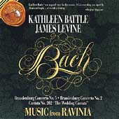 Music from Ravinia - Bach: Wedding Cantata / Battle, Levine