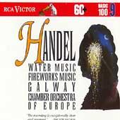 Basic 100 Vol 9 - Handel: Water Music, Fireworks Music