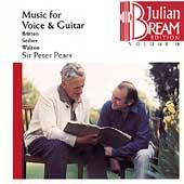 Julian Bream Edition Vol 18 - Music for Voice & Guitar