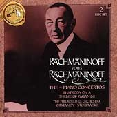 Rachmaninov Plays Rachmaninov:Piano Concerto No.1-4/Paganini Rhapsody