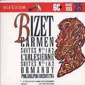 Basic 100 Vol 25 - Bizet: Carmen Suites, etc. / Ormandy