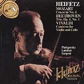 The Heifetz Collection Vol 30 - Mozart, Beethoven, Vivaldi