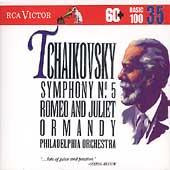 Basic 100 Vol 35 - Tchaikovsky: Symphony no 5, etc / Ormandy