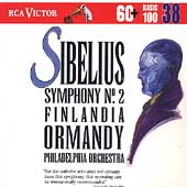 Basic 100 Vol 38 - Sibelius: Symphony no. 2, etc. / Ormandy