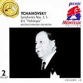 Pierre Monteux Edition Vol 14 - Tchaikovsky: Symphonies 4-6