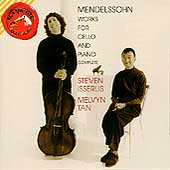 Mendelssohn: Works for Cello and Piano / Isserlis, Tan