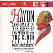 Basic 100 Volume 44 - Haydn: Symphony no 94, 101 / Paillard
