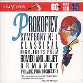 Basic 100 Volume 45 - Prokofiev: Symphony no 1, etc /Ormandy