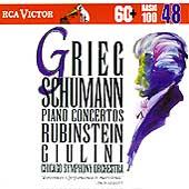 Basic 100 Vol 48 - Grieg, Schumann: Piano Concertos/ Giulini