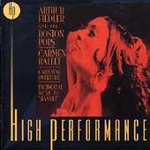 Shchedrin: Carmen Ballet;  et al / Fiedler, Boston Pops