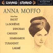 ARIAS FROM FAUST, LA BOHEME, DINORAH/ETC:ANNA MOFFO(S)/TULIO SERAFIN(cond)/ROMA OPERA HOUSE ORCHESTRA