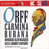 Basic 100 Vol 60 - Orff: Carmina Burana / Mata, Aler, et al