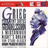 Basic 100 Vol 63 - Grieg: Peer Gynt Suites;  Mendelssohn