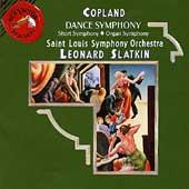 Copland: Dance Symphony, Short Symphony, etc / Slatkin