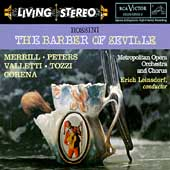Rossini :The Barber of Seville (9/1958):Erich Leinsdorf(cond)/Metropolitan Opera Orchestra/etc