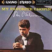 My Favorite Chopin -Polonaise op.53/Nocturne No.17/Fantaisie op.49/etc(1961):Van Cliburn(p)