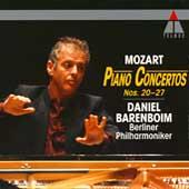 Mozart: Piano Concertos no 20-27 / Barenboim, Berlin PO