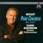 Mozart: Piano Concertos no 9 & 17 / Barenboim, Berlin PO