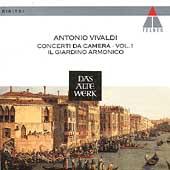 Vivaldi: Concerti da camera Vol 1 / Il Giardino Armonico