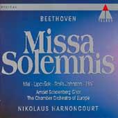 Beethoven: Missa Solemnis / Harnoncourt, Mei, Lipovsek