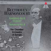 Beethoven: Symphonies 6 & 8 / Harnoncourt, CO of Europe