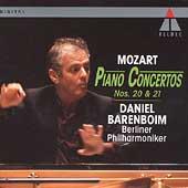 Mozart: Piano Concertos no 20 & 21 / Barenboim, Berlin PO