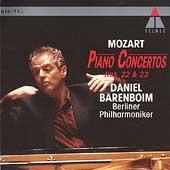 Mozart: Piano Concertos no 22 & 23 / Barenboim, Berlin PO