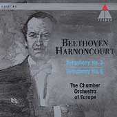 Beethoven: Symphonies 2 & 5 / Harnoncourt, CO of Europe