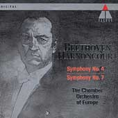 Beethoven: Symphonies 4 & 7 / Harnoncourt, CO of Europe