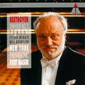 Beethoven: Symphony no 5, Egmont / Masur, New York PO