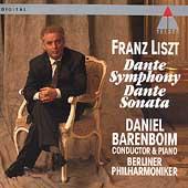 Liszt: Dante Symphony, Dante Sonata / Barenboim, Berlin PO