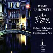 An Evening of Opera / Rene Leibowitz