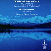 Tchaikovsky: Symphony no 6;  Smetana / Alexander Gibson
