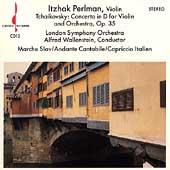 Tchaikovsky: Violin Concerto, etc / Itzhak Perlman