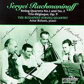 Rachmaninov: String Quartets / Budapest String Quartet