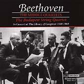 Beethoven: Middle String Quartets / Budapest String Quartet