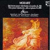 MOZART:CLARINET QUINTET K.581/TRIO FOR PIANO, CLARINET & VIOLA K.498:MICHEL PORTAL(cl)/LES MUSICIENS