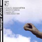 Sammartini: Concerti & Sinfonie / Banchini, Esemble 415