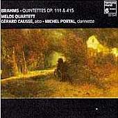 Brahms: Quintettes Op 111 & 115 / Causse, Portal, Melos