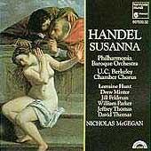 Handel: Susanna / McGegan, Hunt, Minter, Feldman, et al