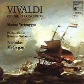 Vivaldi: Recorder Concertos / Verbruggen, McGegan