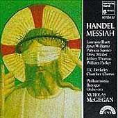 Handel: Messiah / McGegan, Hunt, Williams, Minter, Parker