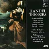 Handel: Theodora / Nicholas McGegan, Lorraine Hunt, et al