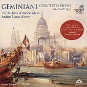 Geminiani: Concerti Grossi / Manze, Academy of Ancient Music