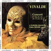Vivaldi: Concerti / Fabio Biondi, L'Europa Galante