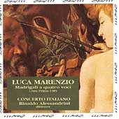 Marenzio: Madrigali a quatro voci / Concerto Italiano