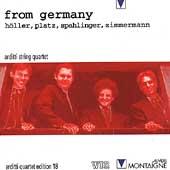 From Germany - H罵ler, Platz, et al / Arditti String Quartet